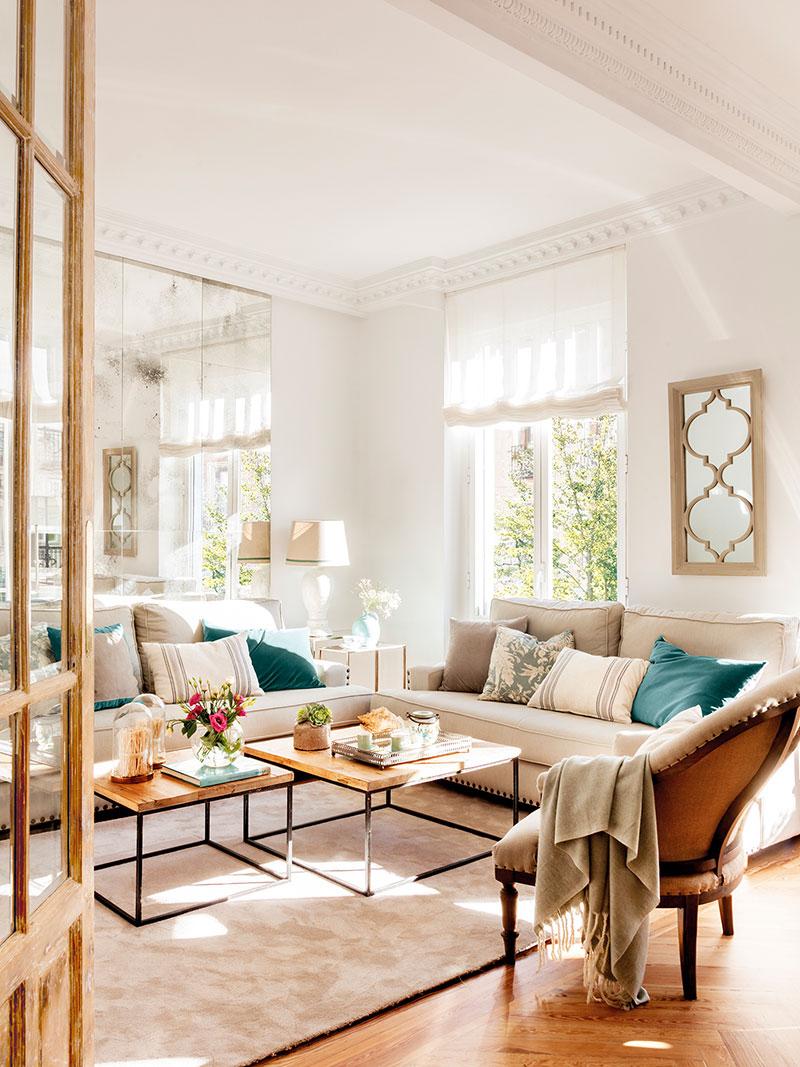 Весенняя свежесть вместо скучных тонов: преображение квартиры в Мадриде   spring touches in madrid apartment pufikhomes 9