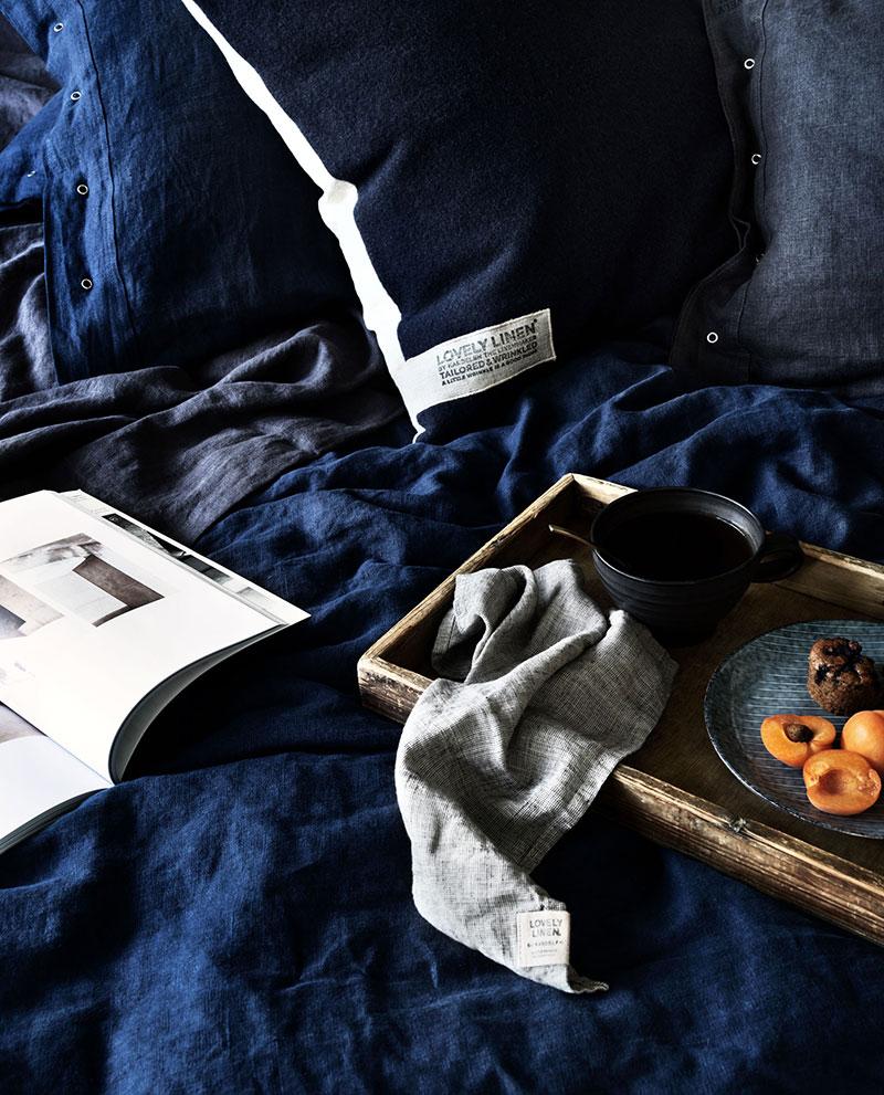 текстиль спальни в интерьере