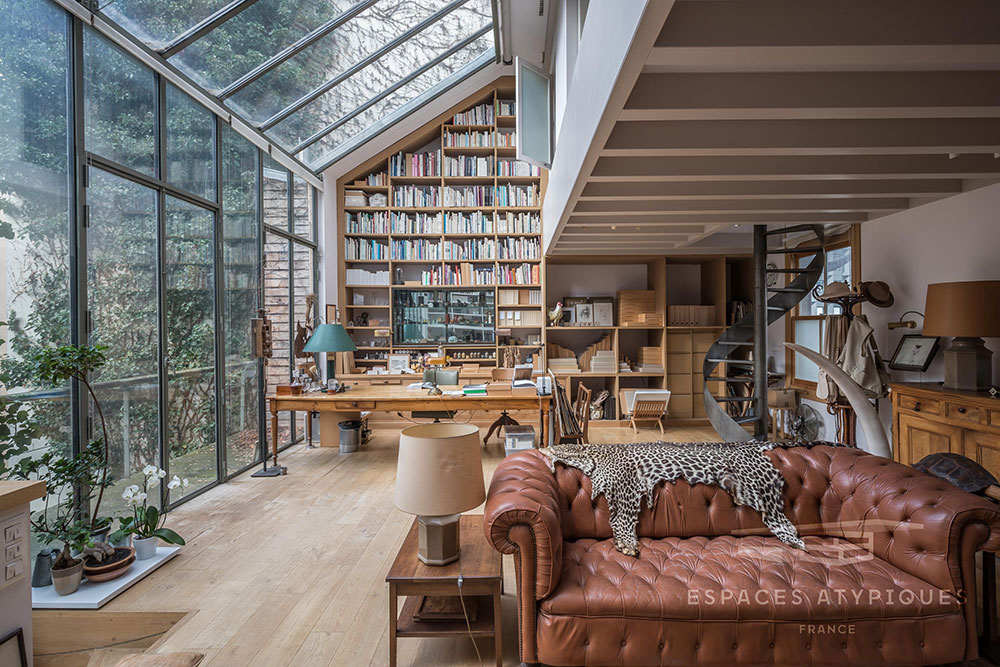 Impressive architect's loft in Paris