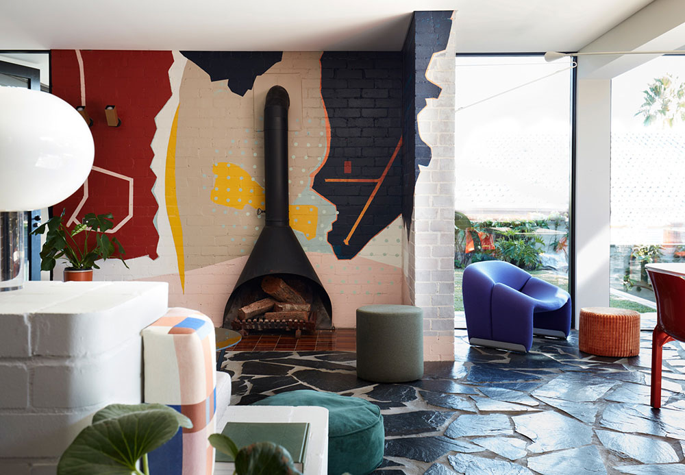 Дом с веселым нравом в пригороде Сиднея