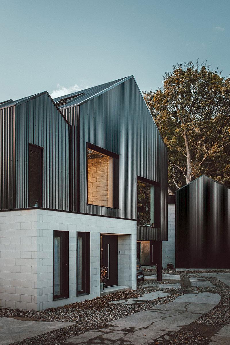 Стильный индустриальный дизайн для братьев близнецов в Шеффилде, Англия