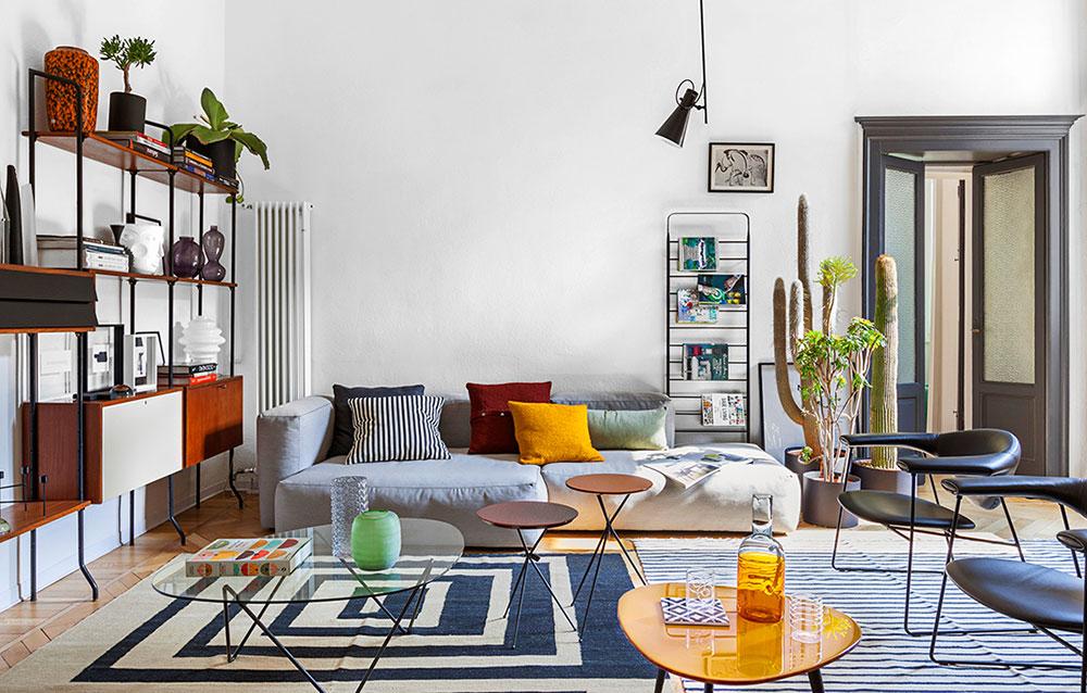 Мебель 50-х и экзотические нотки: дом с секретом на озере Комо в Италии