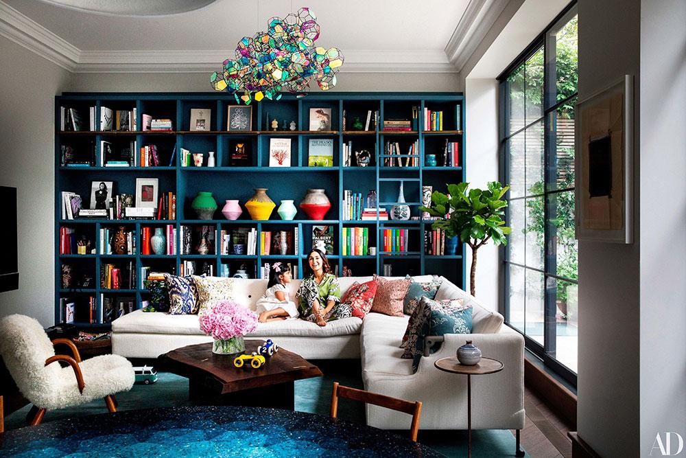 Дом для семьи в Лондоне, наполненный жизнью и красками