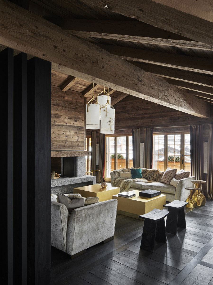Luxury Chalet With Elegant Interiors In Swiss Alps ...
