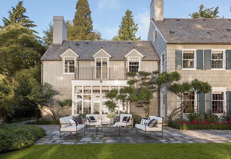 Изысканная загородная резиденция с оранжереей в Сиэтле