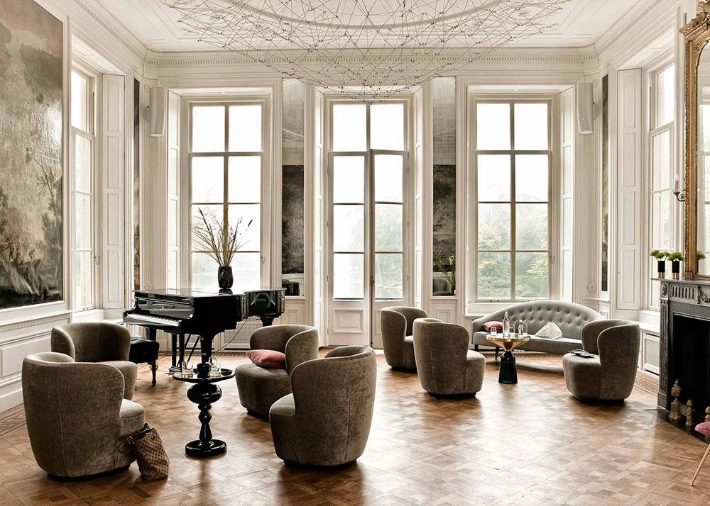 Отель Parc Broekhuizen: современные мотивы в особняке 18 века в Нидерландах