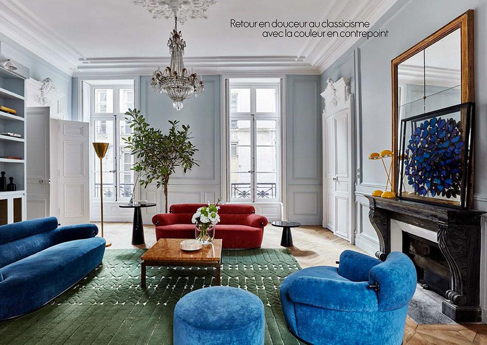 Великолепные эклектичные апартаменты в доме 17-ого века в Париже