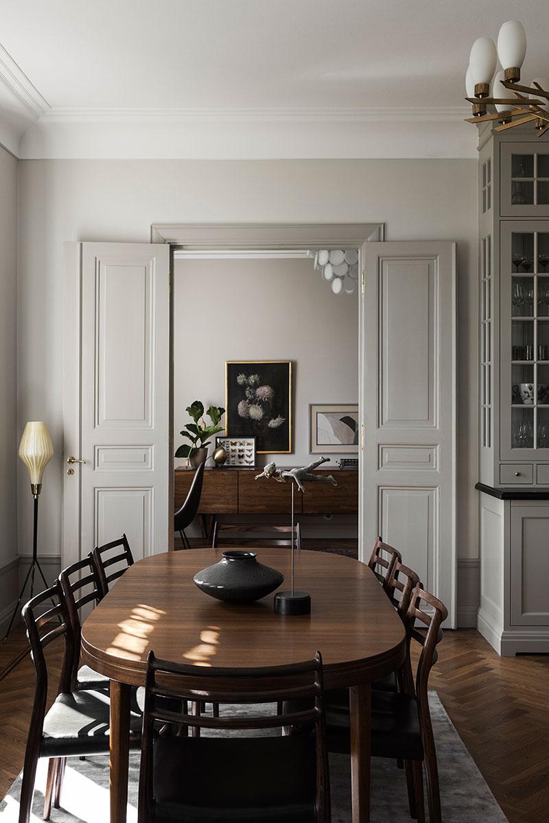 Шведский аристократический интерьер: квартира с изысканным характером в Стокгольме