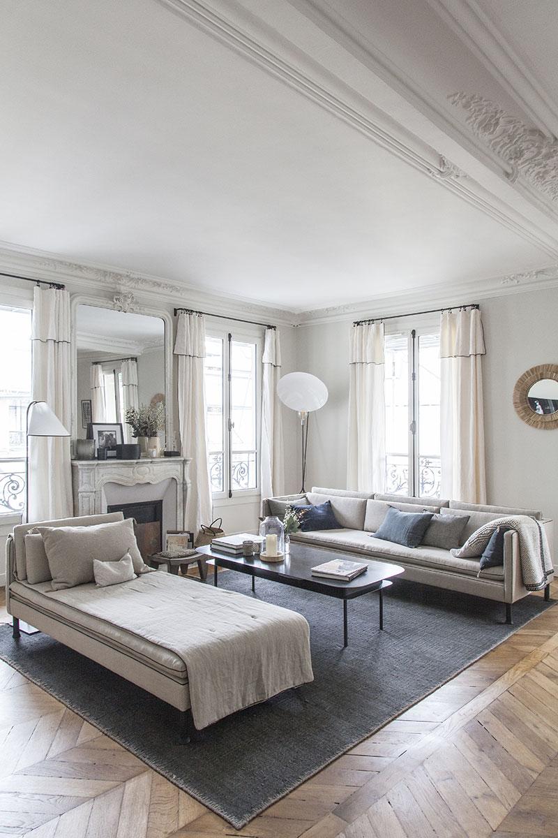 современный французский стиль в интерьере