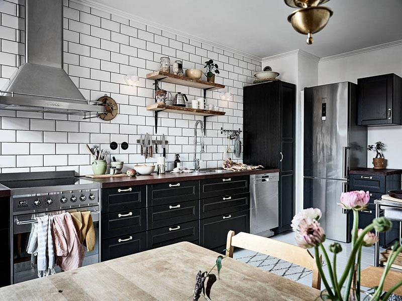 кухни скандинавский стиль в интерьере