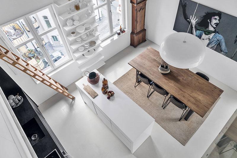 интерьер в скандинавском стиле кухня