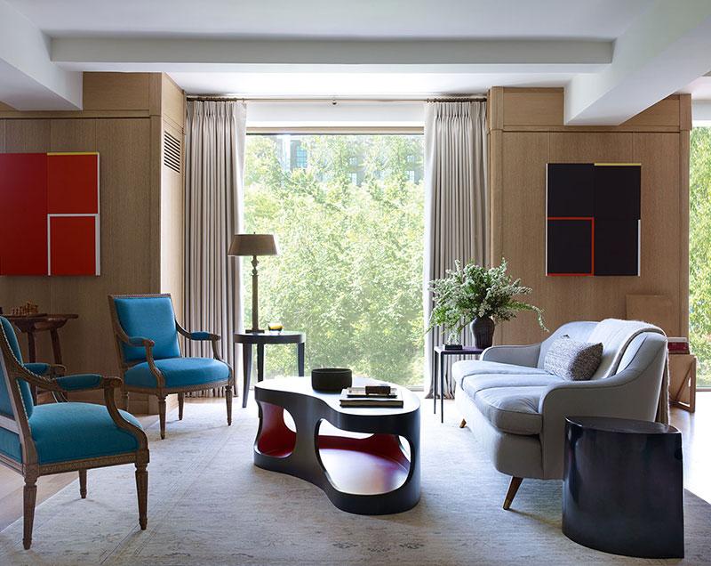 американский стиль в интерьере квартиры