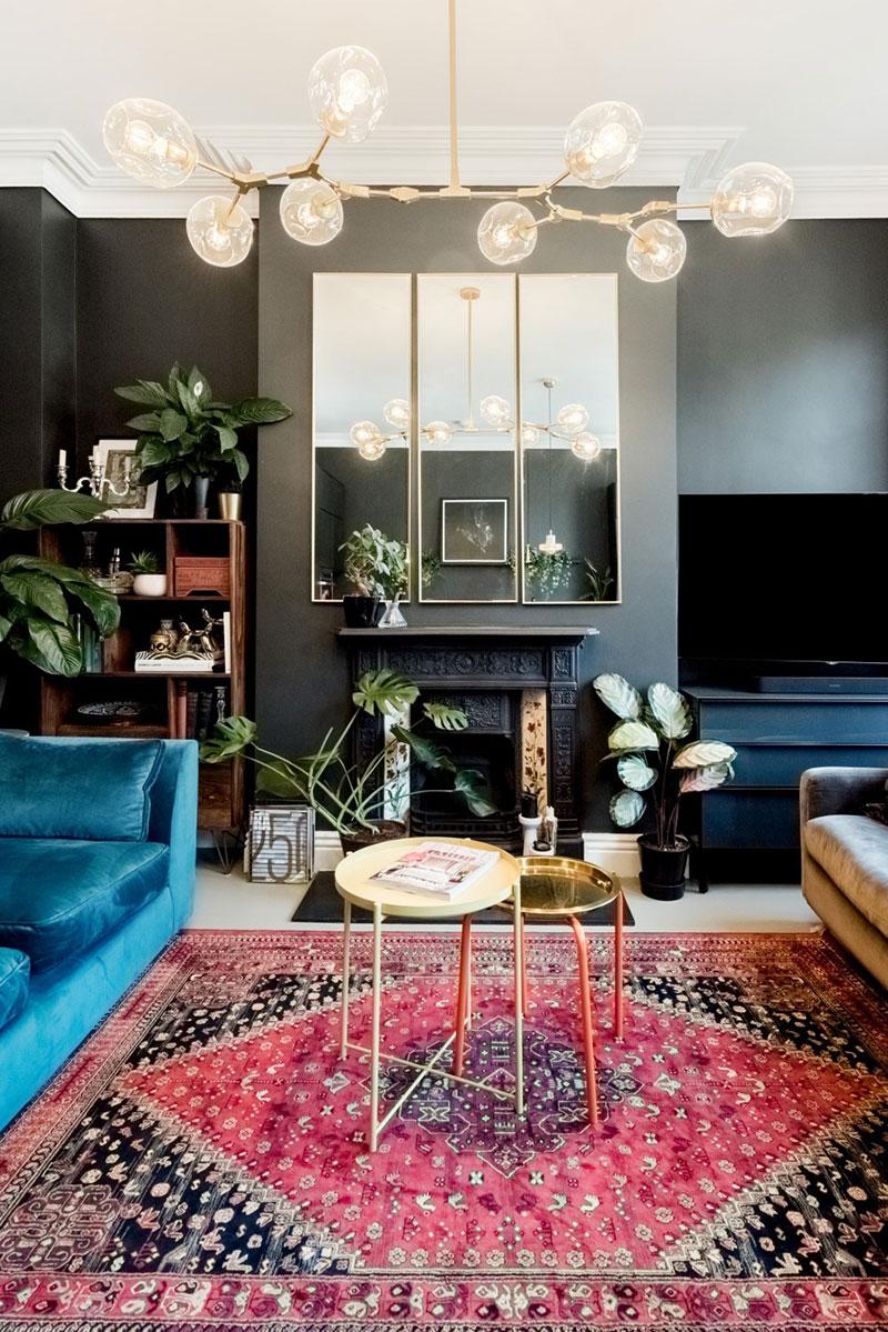 камины в интерьере в квартире фото