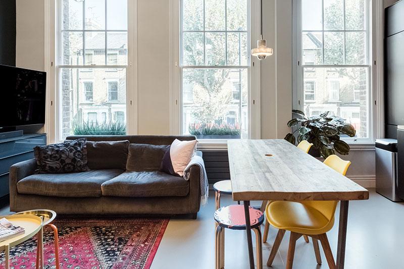 квартиры в лондоне интерьер