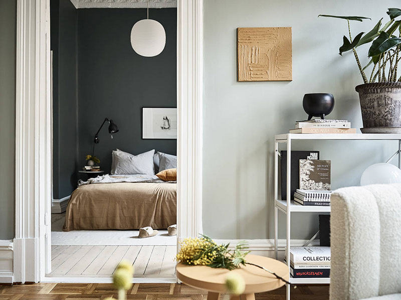 какой цвет преобладает в скандинавском стиле дизайна интерьера