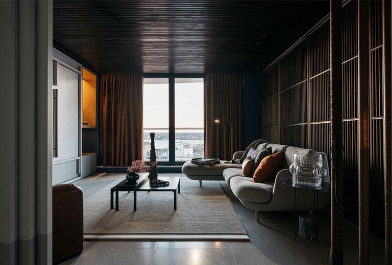 индустриальный стиль в интерьере квартиры фото
