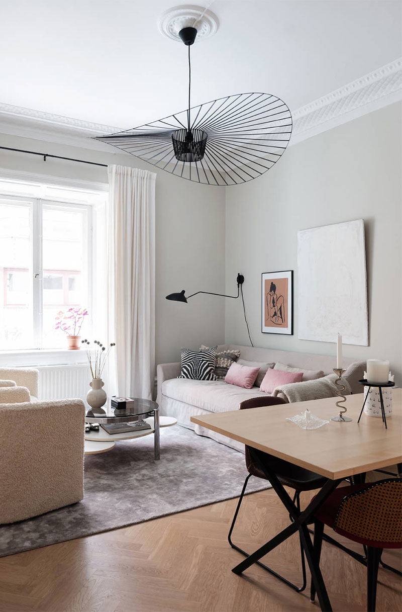 маленькие скандинавские квартиры интерьер и дизайн