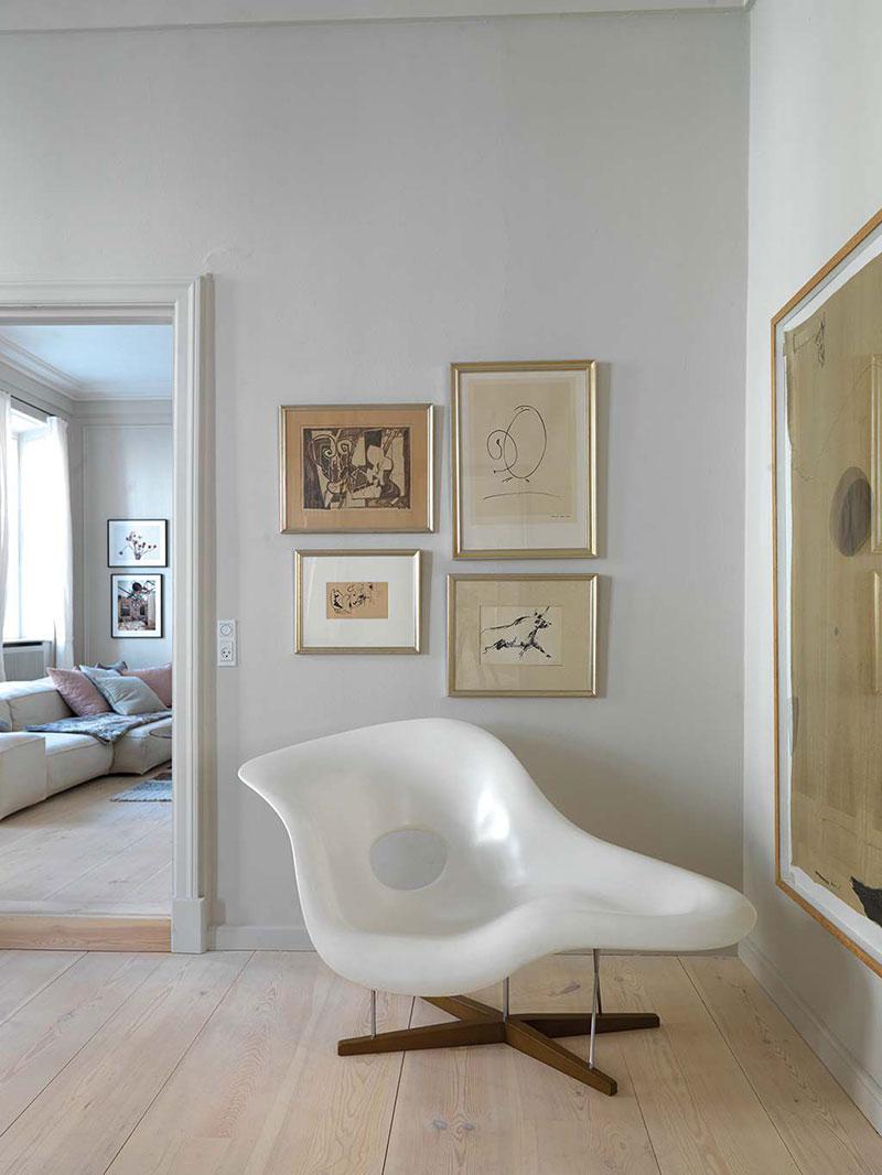 скандинавский стиль в интерьере квартиры фото