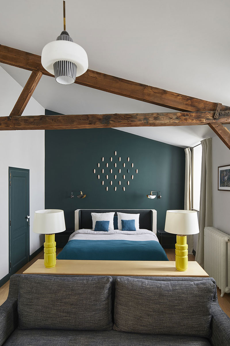 интерьер квартиры в парижском стиле