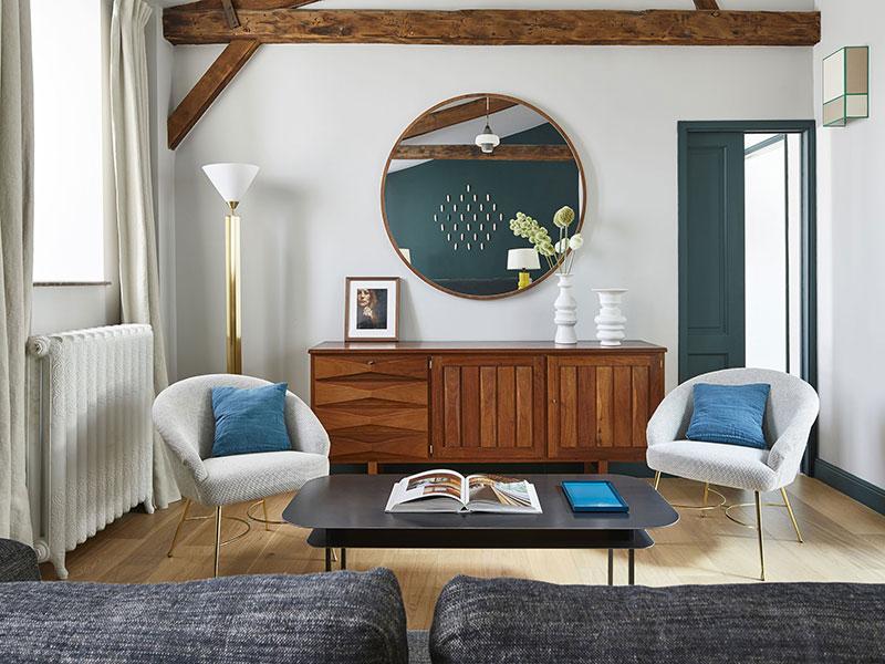 интерьер квартиры в парижском стиле фото