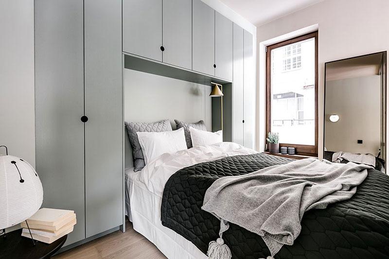 скандинавский интерьер в маленькой квартире