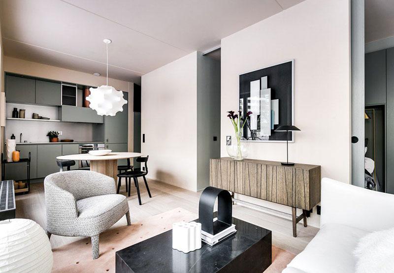 стиль скандинавский в интерьере маленькой квартиры