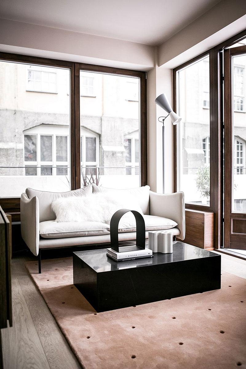 интерьер в скандинавском стиле в маленькой квартире