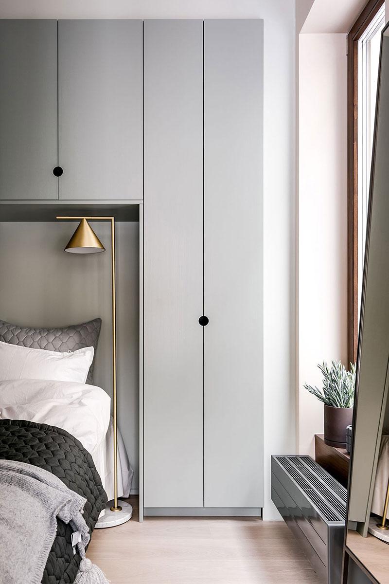 интерьер в маленькой квартире в скандинавском стиле