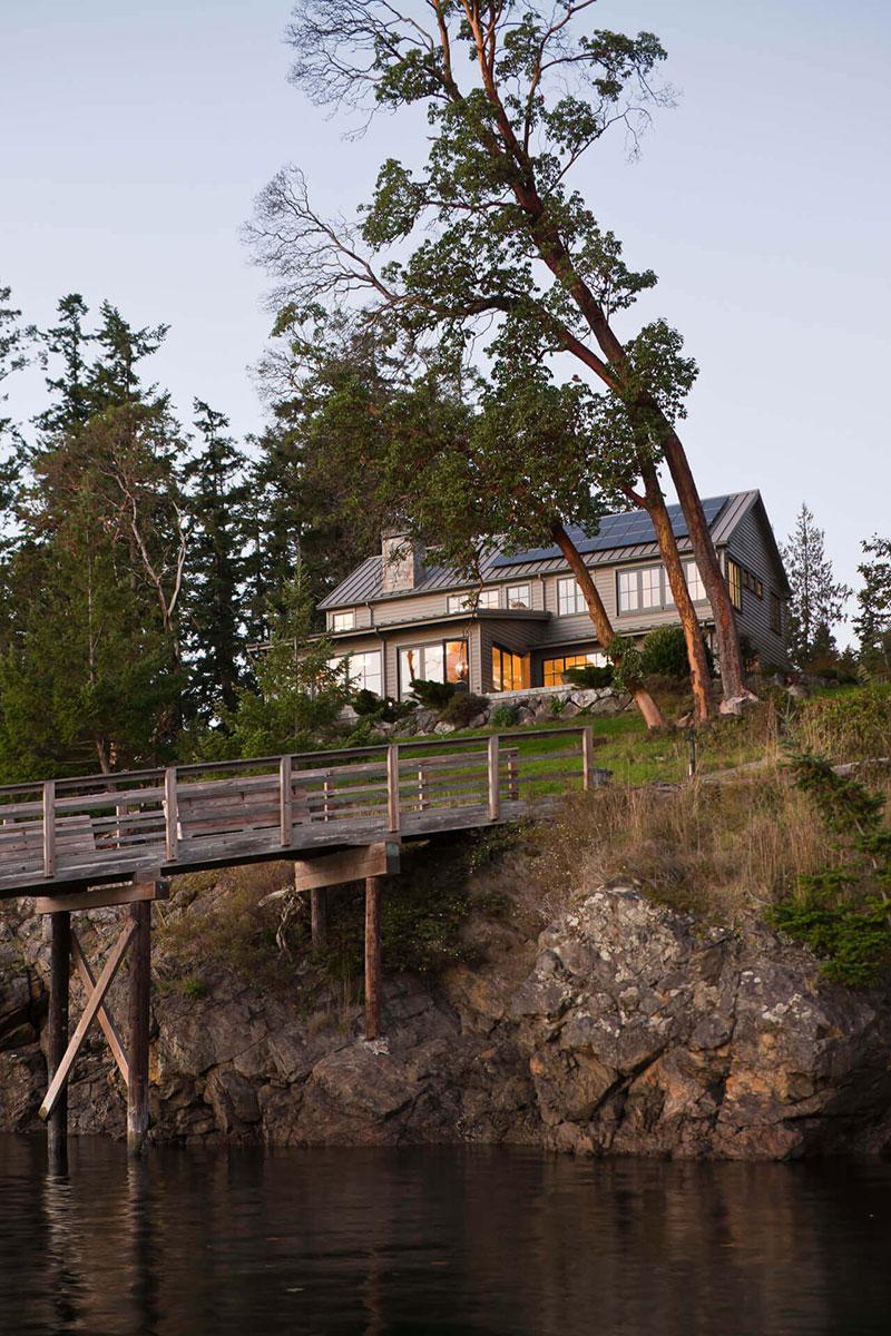 деревянные дома интерьер америка