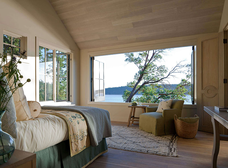 деревянный уютный дом