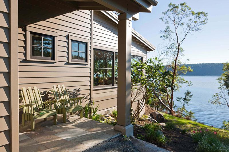 дизайн уютного деревянного дома