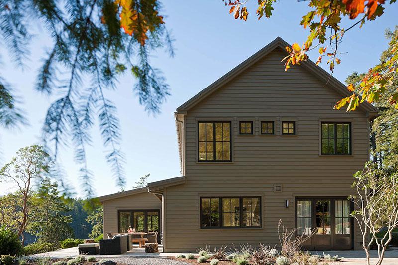 интерьер деревянных домов в америке