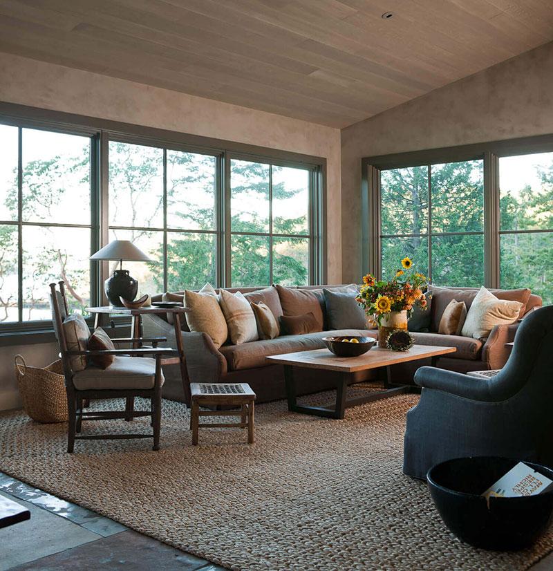интерьеры деревянных домов в америке