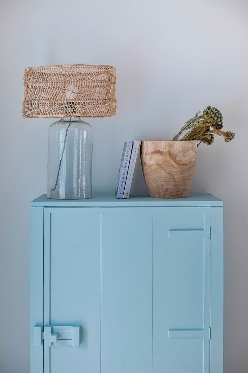 голубой цвет кухни в интерьере