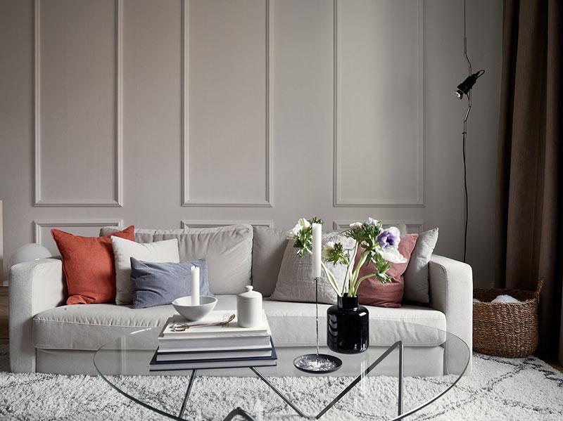 интерьер небольшой квартиры в скандинавском стиле фото