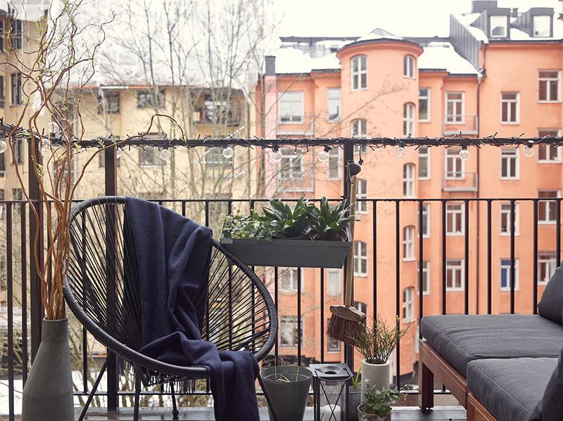 скандинавский интерьер в небольшой квартире фото