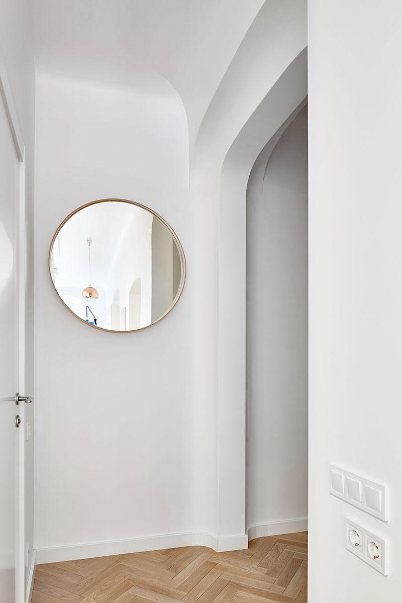 интерьер смарт квартиры с кухней