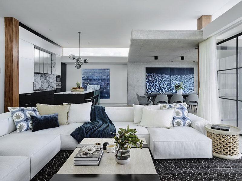 австралийский дом и интерьер