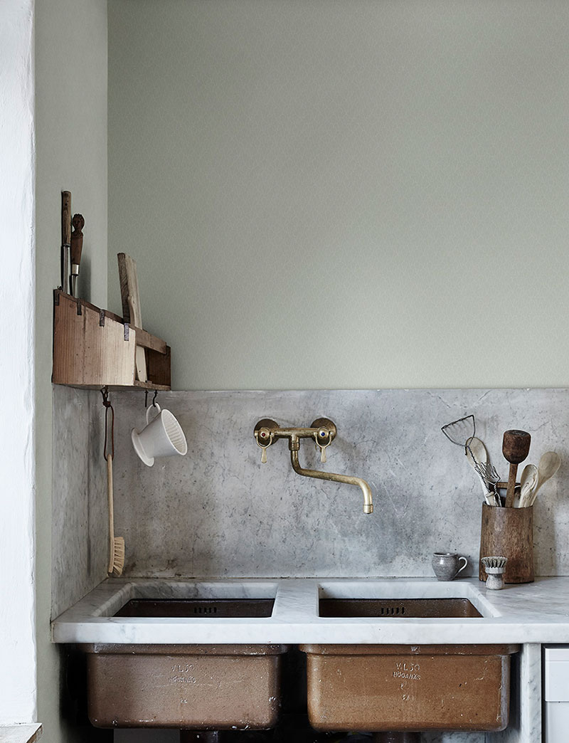 интерьер кухни обои для кухни фото