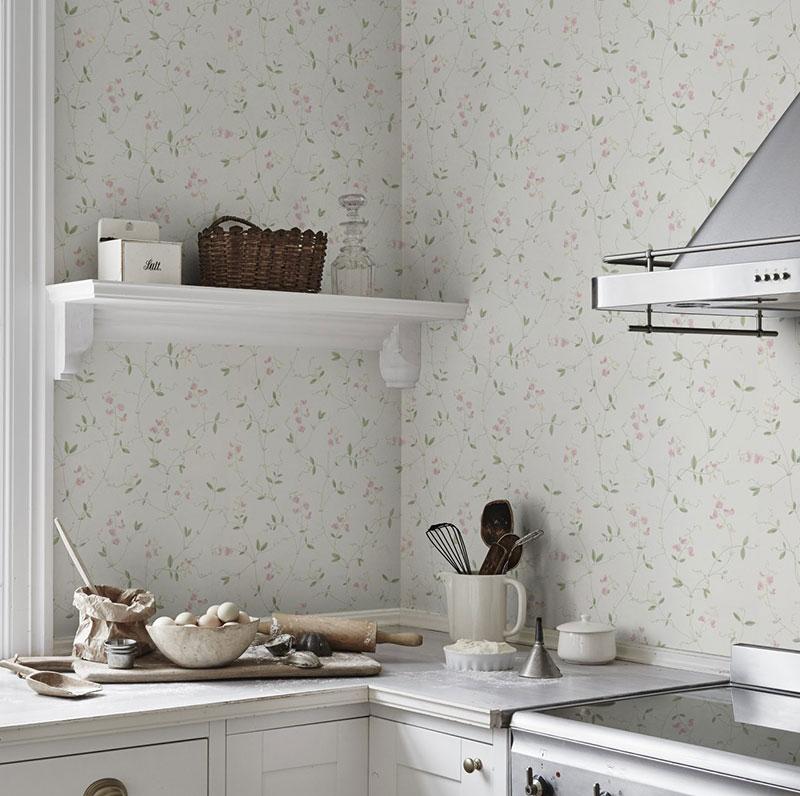 жидкие обои на кухне фото интерьера
