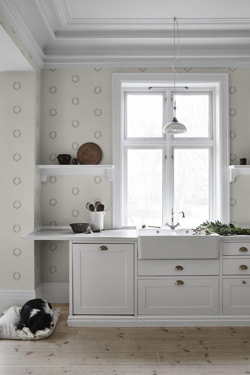 обои для кухни дизайн интерьера фото