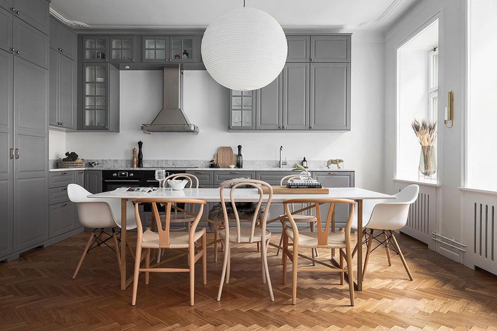 современный скандинавский стиль в интерьере квартиры