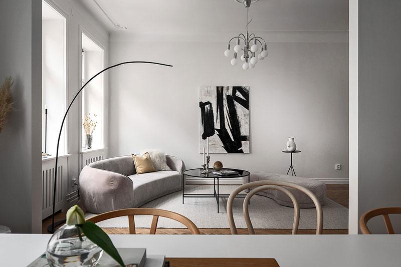 современный скандинавский стиль в интерьере квартиры фото