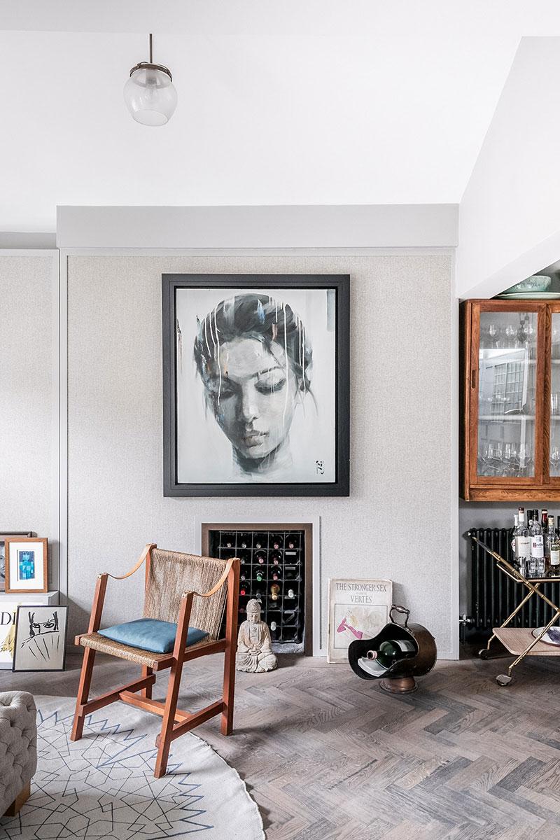 монохромные интерьеры квартир фото