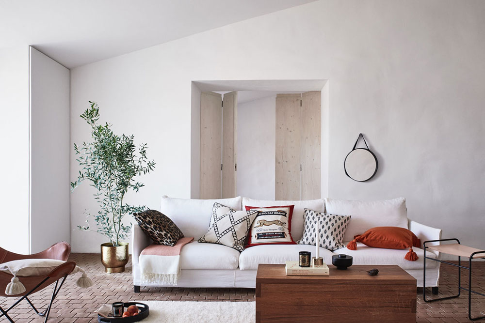 Calm and natural Spring collection by H&M Home 〛 ◾ Photos ◾Ideas