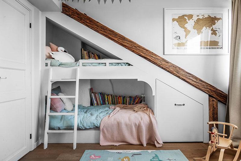 интерьер для мансардной квартиры