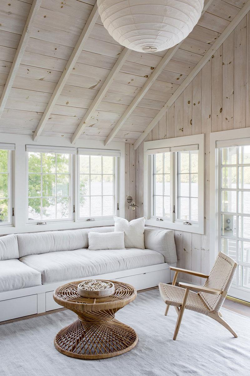 американские деревянные дома интерьер