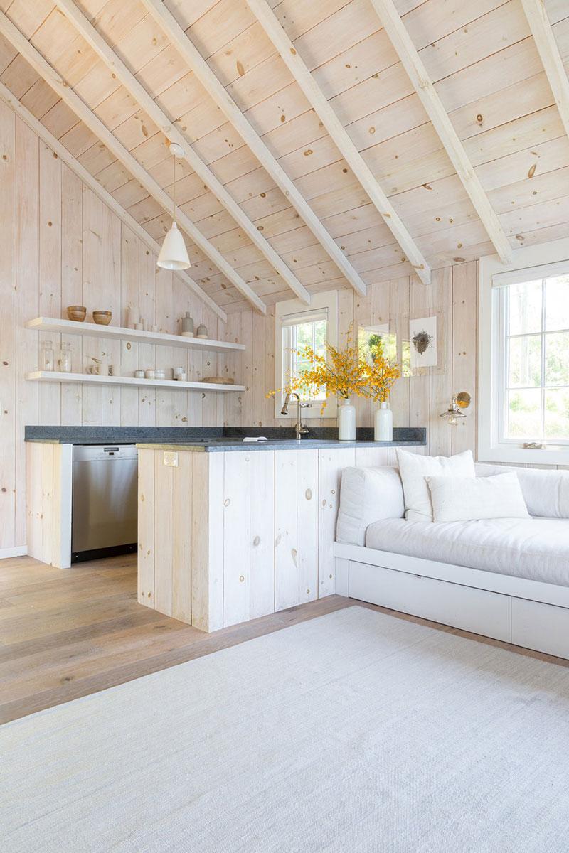 интерьеры деревянных домов в американском стиле