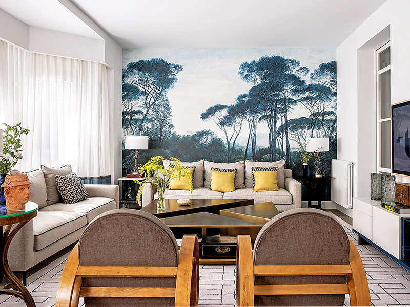 стиль эклектика в интерьере фото в квартире
