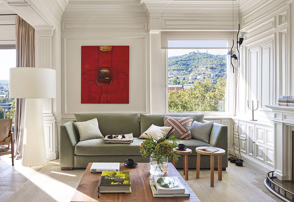 элегантный интерьер квартиры